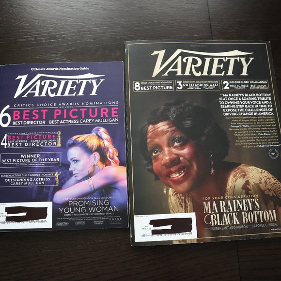 Variety Magazine Viola Davis & Stacey Abrams Bonus